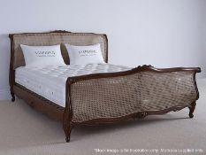 1 x VISPRING 'Supreme' Luxury Mattress - Superking Custom Size: W188 x L200cm - Medium Firmness