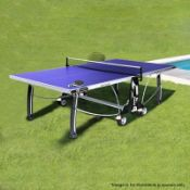 1 x CORNILLEAU ALL SEASONS Outdoor Table Tennis Table - Dimensions (approx): 280 x 153 x H74cm