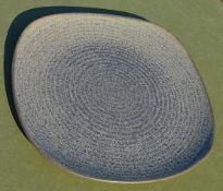10 x DUDSON 'Evolution Granite' Vitrified Stoneware 30cm Square Commercial Dinner Plates