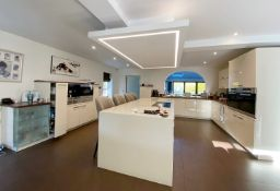 1 x Bespoke Luxury ALNO Branded Fitted Kitchen With Miele Appliances And Silestone® Central Island