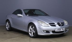 2005 Mercedes SLK 200 Kompressor 2 Door Convertible - CL505 - NO VAT ON THE HAMMER - Location: Corby