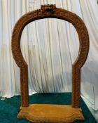 1 x Large 1m Wooden Arch - Dimensions: 103x82cm - Ref: Lot 92 - CL548 - Location: Near Market