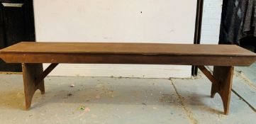 10 x 1.8m Wooden Benches - Dimensions: 183x47x30cm - Ref: Lot 49 - CL548 - Location: Near Oadby,