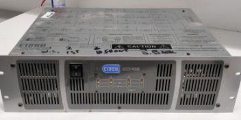 1 x Cloud CXV425 Commercial Music Amplifier - RRP £1,200 - Ref: RB169 - CL558 - Location: Altrincham