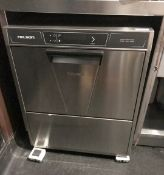 1 x Nelson Stainless Steel Undercounter Glass Washer(Model 3004-16) - Made In Italy - CL554 - Ref