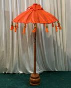 4 x Balinese Umbrellas - Dimensions: 81x48cm - Ref: Lot 85 - CL548 - Location: Near Market