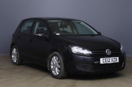 2012 Volkswagen Golf 1.6 Tdi Match 5 Door Hatchback - CL505 - NO VAT ON THE HAMMER