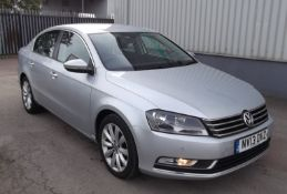 2013 Volkswagen Passat 2.0 HDI Highline Blue Tech 4 Door Saloon with FSH