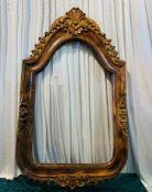 1 x Large 1.35m Wooden Frame - Dimensions: 135x85cm - Ref: Lot 91 - CL548 - Location: Near Market
