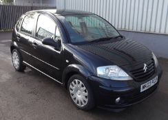 2003 Citroen C3 1.4 Hdi SX 5 Door Hatchback - CL505 - NO VAT ON THE HAMMER - Location: Corby, Northa