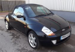 2003 Ford StreetKa 1.6 2 Door Convertible - CL505 - NO VAT ON THE HAMMER - Location: Corby, Northamp