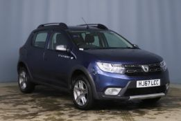 2017 Dacia Sandero Stepway Laureate 1.5 DCI 5 Door SUV - CL505 - NO VAT ON THE HAMMER - Location: Co