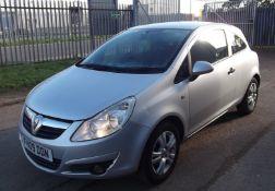 2009 Vauxhall Corsa 1.2 Active 3 Door Hatchback - CL505 - NO VAT ON THE HAMMER - Location: Corby, No