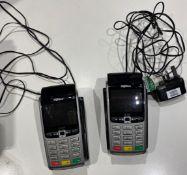 2 x Ingenico IWL250 Wireless Terminal Smart Card Reader - Used condition - Location: Altrincham WA14
