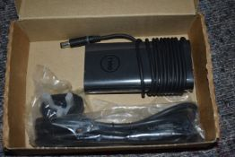 1 x Genuine Dell Laptop Charger Power Supply 90W Slim Design PN-06C3W2 - New and Boxed - Ref: IN2132