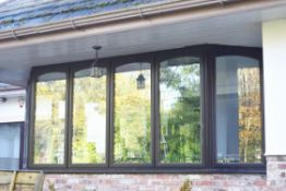Selection of Hardwood Double Glazed Conservatory Windows and French Doors - Fitted With Darbytuf