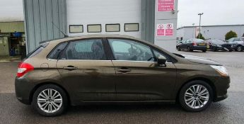2012 Citroen C4 VTR+ E-HDI Semi-Auto 5 Door Hatchback - CL505 - NO VAT ON THE HAMMER - Location: Cor