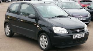2005 Hyundai Getz 1.3 GSi Hatchback 3dr -CL505 - NO VAT ON THE HAMMER - Location: Corby,