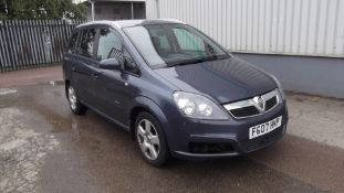 2007 Vauxhall Zafira 1.9 CDTi Energy 5 Door MPV