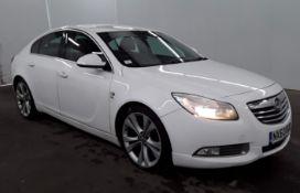 2010 Vauxhall Insignia 2.0 CDTI SRI 5 Door Hatchback - CL505 - NO VAT ON THE HAMMER - Location: Corb