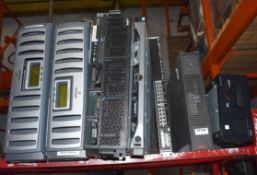 Assorted Collection of 7 x Computer Items Including Servers, Netapps, Tape Drive and APC UPS -