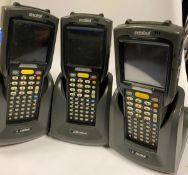 3 x Symbol MC3090 Handheld Barcode Scanner - Used Condition - Location: Altrincham WA14 -