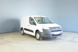 2011 Peugeot Partner 850 S 1.6 Hdi 90 4 Door Panel Van