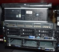 Assorted Collection of 5 x Computer Items Including Servers and Rackmount Monitor -Ref: In2149 -
