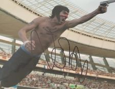 1 x Signed Autograph Picture - SACHA BARON COHEN - With COA - Size 12 x 8 Inch - CL590 - Location:
