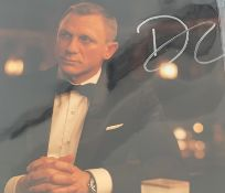 1 x Signed Autograph Picture - DANIEL CRAIG aka JAMES BOND - With COA - Size 12 x 8 Inch - CL590 -