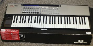 1 x Novation SL MKII 61 Key Keyboard - Pre-owned - Ref: MC595 / WH1 UO - Location: Altrincham