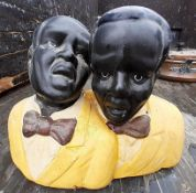 3 x Ornaments of Old Style Black Entertainers - Ref: JB220/JB221/JB222 - Pre-Owned - NO VAT ON THE H