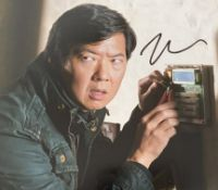 1 x Signed Autograph Picture - KEN JEONG - With COA - Size 12 x 8 Inch - CL590 - Location: