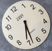 1 x Thomas Kent Greenwich Wall Clock - CL590 - Location: Altrincham WA14
