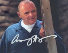 1 x Signed Autograph Picture - ANTHONY HOPKINS HANNIBAL - With COA - Size 12 x 8 Inch - CL590 -