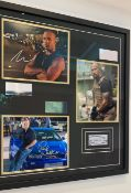 1 x Signed Autograph Framed Picture With COA - FAST AND THE FURIOUS CAST - CL590