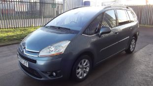 2007 Citroen C4 Picasso 7 Seater Exclusive 2.0 HDI Automatic 5 Door MPV - CL505 - NO VAT ON THE HAMM