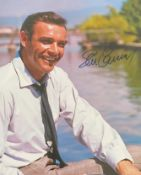 1 x Signed Autograph Picture - SEAN CONNERY - With COA - Size 12 x 8 Inch - CL590