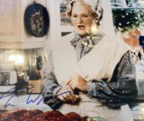 1 x Signed Autograph Picture - ROBIN WILLIAMS MRS DOUBTFIRE - With COA - Size 12 x 8 Inch -