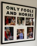 1 x Signed Autograph Framed Picture - ONLY FOOLS AND HORSES - Classic BBC Comedy Multi Cast Signed