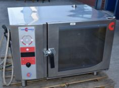 1 x Convotherm OSC Combi Oven - Model OSC 6.10 - 6 Grid Oven With Stainless Steel Finish - 3 Phase P
