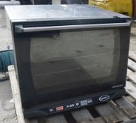 1 x Unox LINEMISS Arianna 4 grid Convection Oven XFT130 - Dimensions: W50 x D65 x H50cm