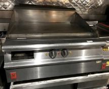1 x Falcon Countertop Griddle With Solid Top - H44 x 80 x 80 cms - CL554 - Ref IM213 - Location: