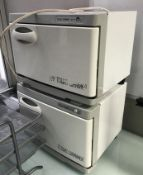 2 x Countertop Towel Warmers - 240v - Ref H180 - CL587 - Location: London WC2H