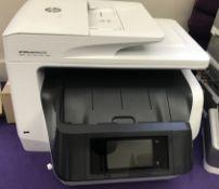 1 x HP Office Jet Pro 8720 Multifunction Printer - Print, Fax, Scan, Copy, Web - CL587 - Location: