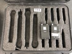 2 x Shure UR1 Transmitters In Plastic Case- Frequency Range: L3 - Ref: 398