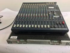 1 x Yamaha Power Desk 5016 CF c/w Flight Case & IEC Cable- Ref: 340 - CL581 - Location: