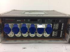 1 x ZERO 88 6 CHANNEL DIMMING PACK - In FLIGHT Case - Ref: 769 - CL581 - Location: Altrincham WA14