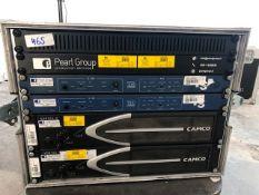 2 x Camco Vortex 6, 2 x Nexo LS1200 Processor With Patch Pannel & Power Distro In FightCase - Ref: