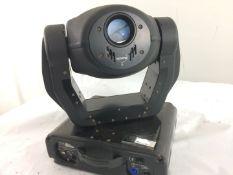 2 x Movitec SL250 Moving Heads In Double Flight Case - Ref: 782 - CL581 - Location: Altrincham WA14